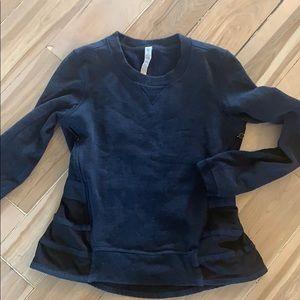 Lululemon navy sweatshirt